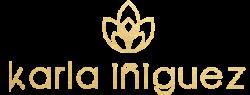 Karla Iñiguez Florista Logo